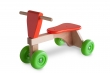 First riding toy which encourages the youngest ones to move entirely freely and safely